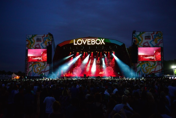 Lovebox: takes place in London on 17 and 18 July