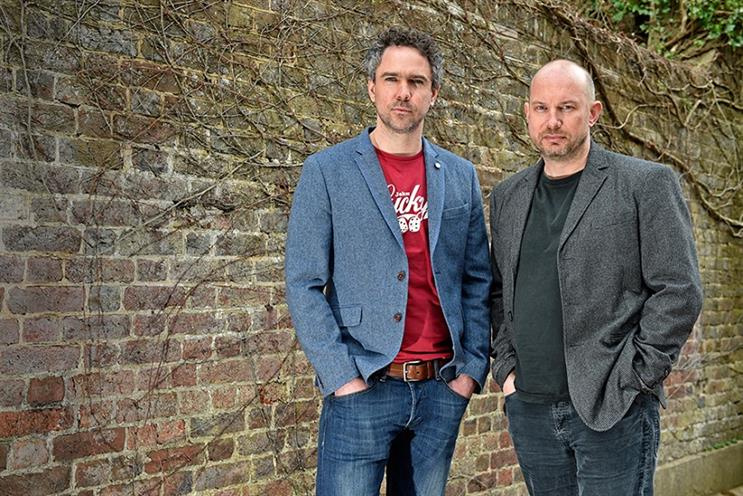 Crowdcube CMO and co-founder Luke Lang (l) with CEO and co-founder Darren Westlake