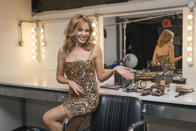 Kylie Minogue: backs MasterCard's Priceless campaign