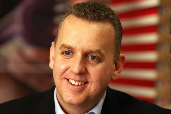 Alistair Macrow: senior vice-president and chief marketing officer at McDonald's UK