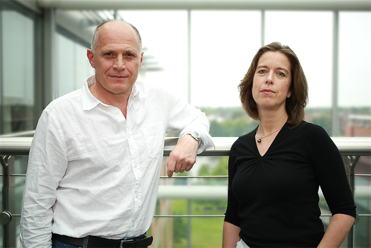 Scognamiglio (l) and Daranyi: Rapp and Haygarth are an 'ideal match', according to their CEOs