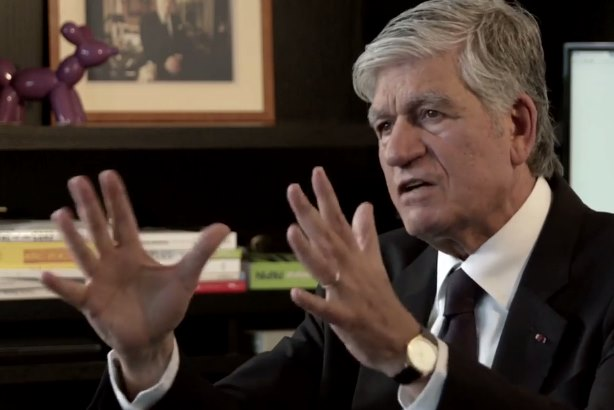 Maurice Lévy, the chairman and chief executive of Publicis, which has pledged to provide funding for 90 digital start-ups