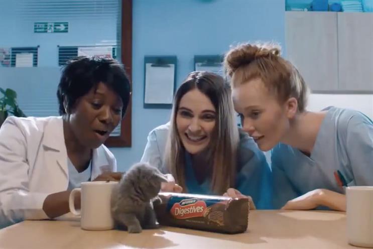 McVitie's: Grey handles UK advertising