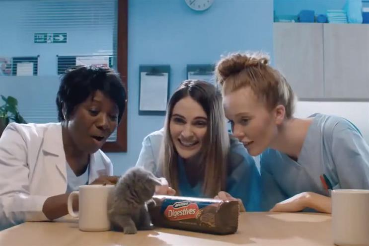 McVitie's: CHI & Partners, Havas London and MullenLowe London are competing