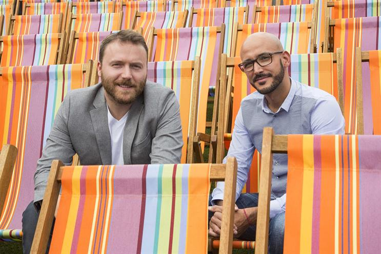 Jean-Laurent Py and Sebastien Boutebel (left to right): join McCann London from Herezie
