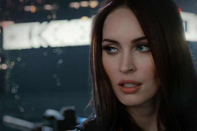 Megan Fox: stars in Call of Duty campaign