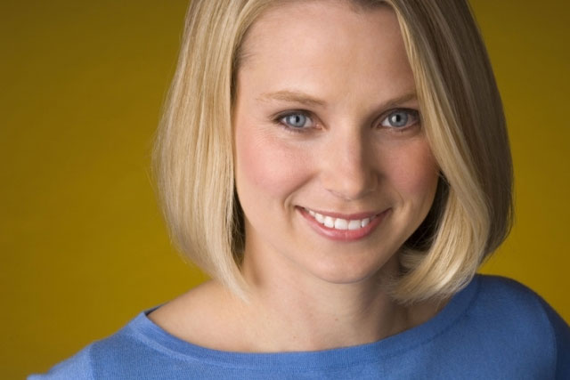 Marissa Mayer: the chief executive of Yahoo