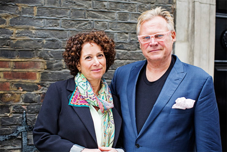 Pointblank: Mellors (right) will oversee creative output in the UK office alongside Greene