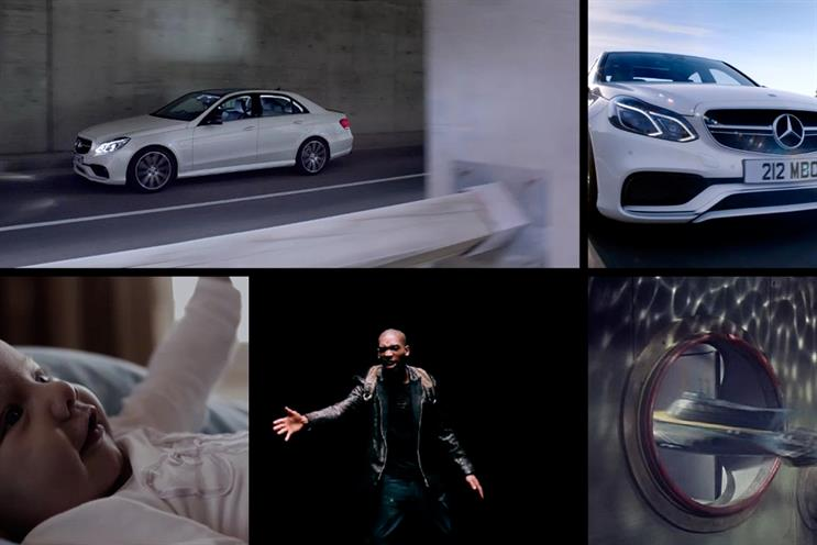 Mercedes-Benz: the Weapon7 team handling the account has been moved to AMV and Hub+