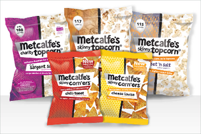 Metcalfe's: hires Quiet Storm for debut TV campaign