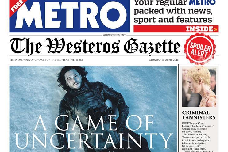 Things we like: Game of Thrones coverwrap
