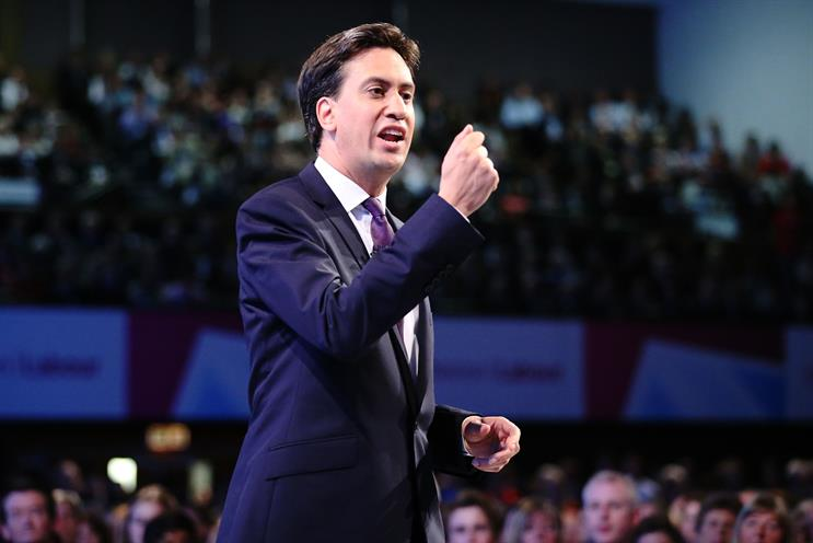 Ed Miliband: Labour has warned it could crack down on 'excesses in marketing' through legislation. Credit: Getty Images