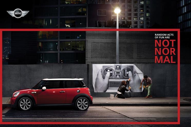 Mini: Crispin Porter & Bogusky London will create a campaign to run in the brand's key markets