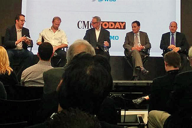 Advertising Week: John Montgomery (centre) and other 'Buyer Beware' panellists