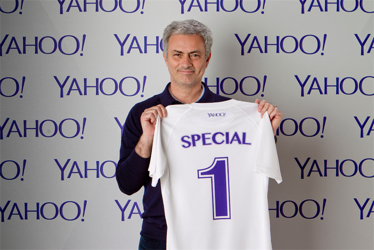 Yahoo: turns to Chelsea's 'Special One' in social media hunt for football stars