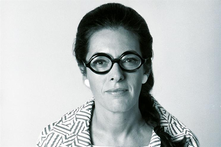 Robinson: under Bernbach, became the first female copy chief in US history