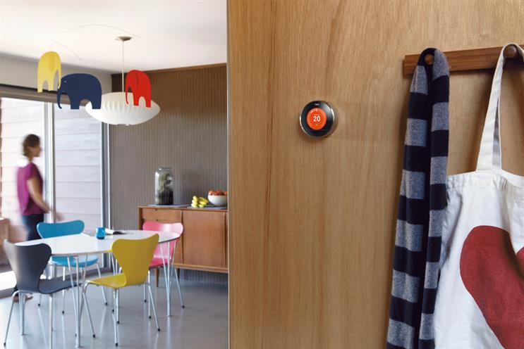 Nest: Google's 'connected' thermostat is controlled by an app through its owner's smartphone
