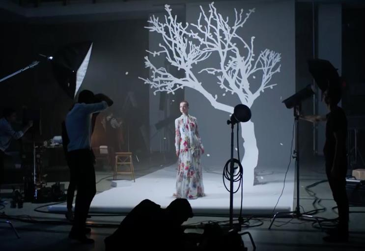Net-a-Porter and Mr Porter ran a combined ad campaign for the first time at Christmas