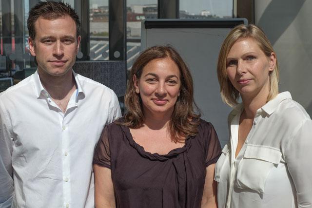 Kitcatt Nohr: Michael Cosham, Vonnie Alexander and Annette Blunden