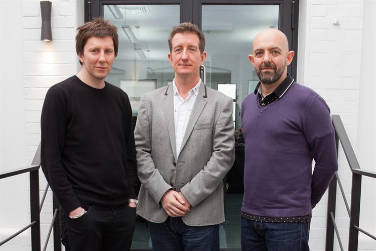 Studio Ex Nihilo: (l-r) the founders Savage, Harris and Bennett each hold a stake in the business