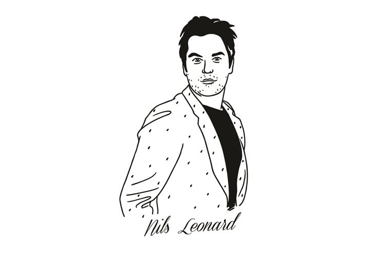 Nils Leonard: the chairman and chief creative officer of Grey London