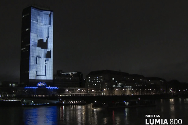Inferno: lights up London for Nokia campaign