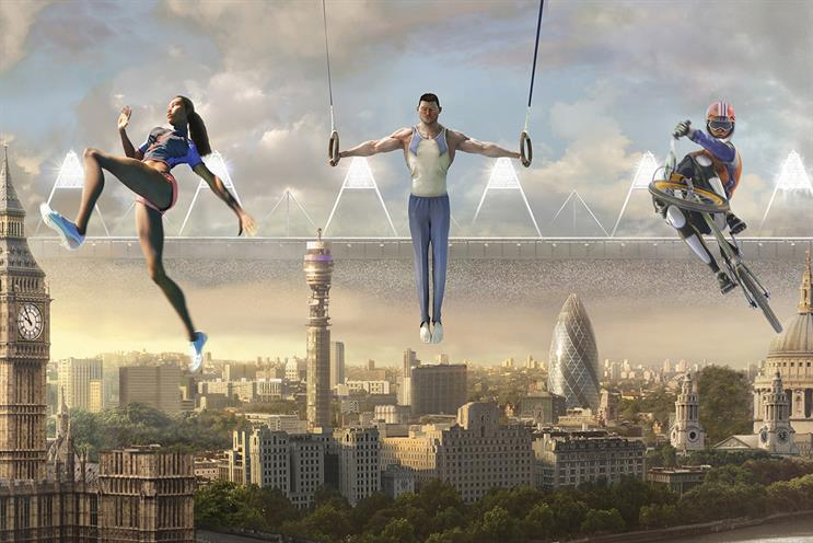 "BBC 2012 ""stadium UK"" by RKCR/Y&R: one of Mark Roalfe's favourite ads for the BBC"
