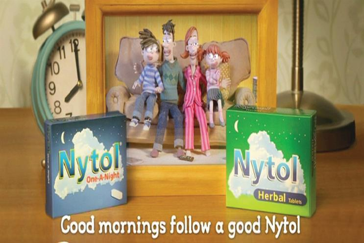Nytol: The Corner wins the creative account for its parent, Omega Pharma