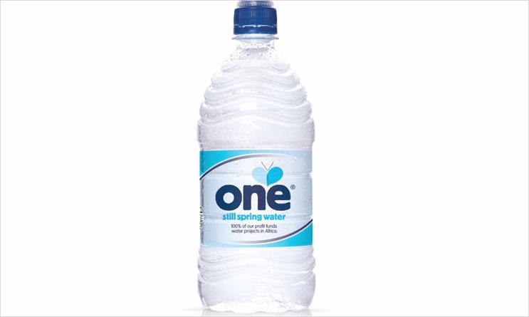 One: water brand from Global Ethics