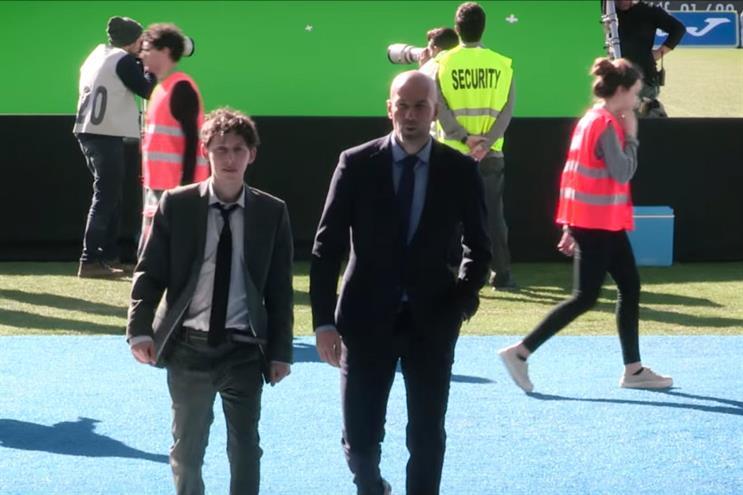 Zinédine Zidane is helping Orange find the ultimate fans