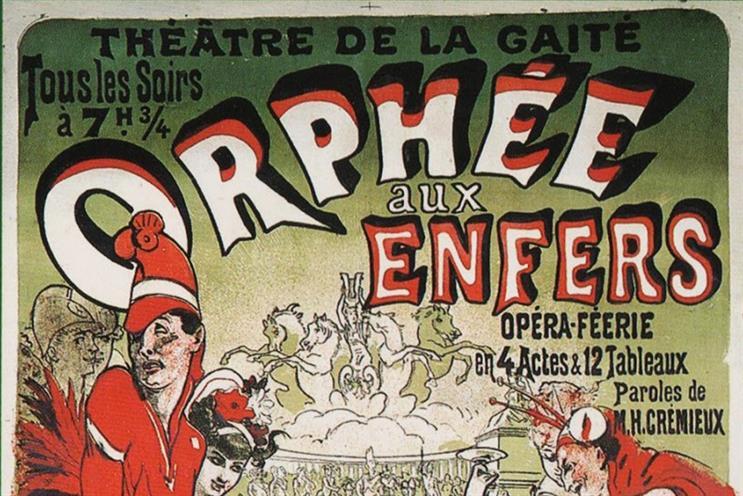 No 71: Jules Chéret's first poster