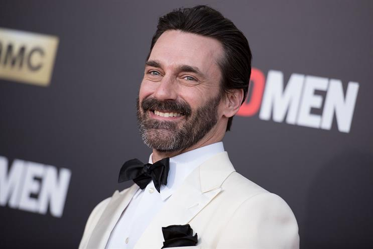 Hamm: can't seem to escape the advertising lifestyle