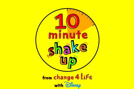 10 minute shake up: Change4Life teams up with Disney to launch new campaign
