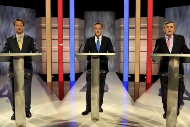 2010: party leaders' TV debate