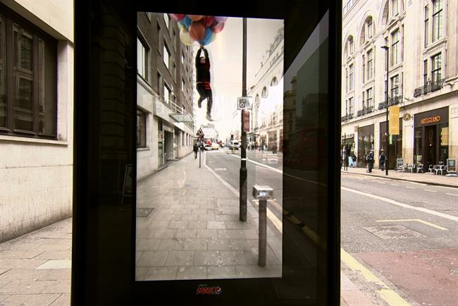 An augmented-reality campaign by Pepsi Max. 'Augmented Reality' was the most searched industry buzzword in the UK.