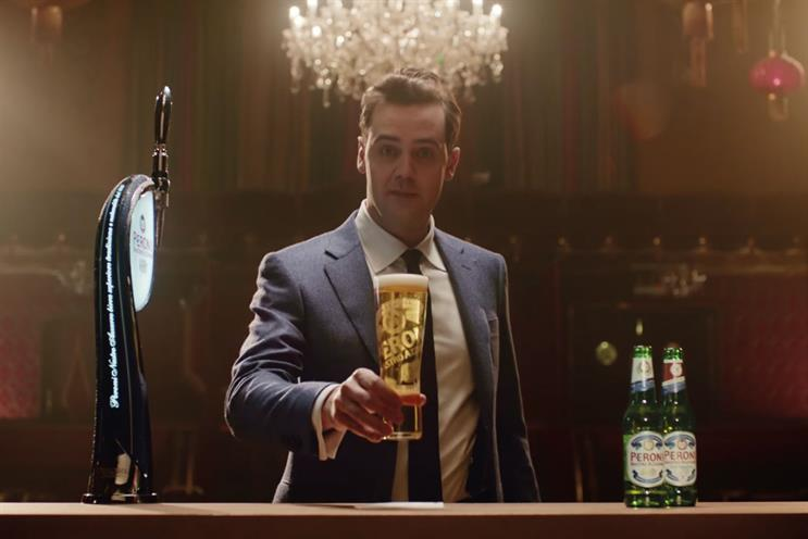 Peroni: incumbent is M&C Saatchi