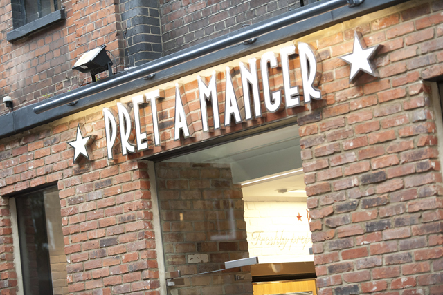 Pret A Manger: set to open in Shanghai later this year