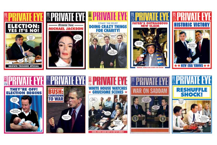 Private Eye bolstered by 'less is more' ad approach