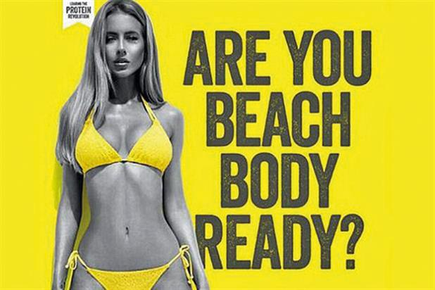 The MP criticised ads that deliberately court controversy, such as Protein World