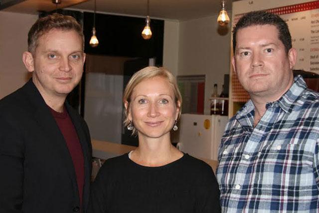 John Treacy (left): hires Angela Lake and Aiden Moran