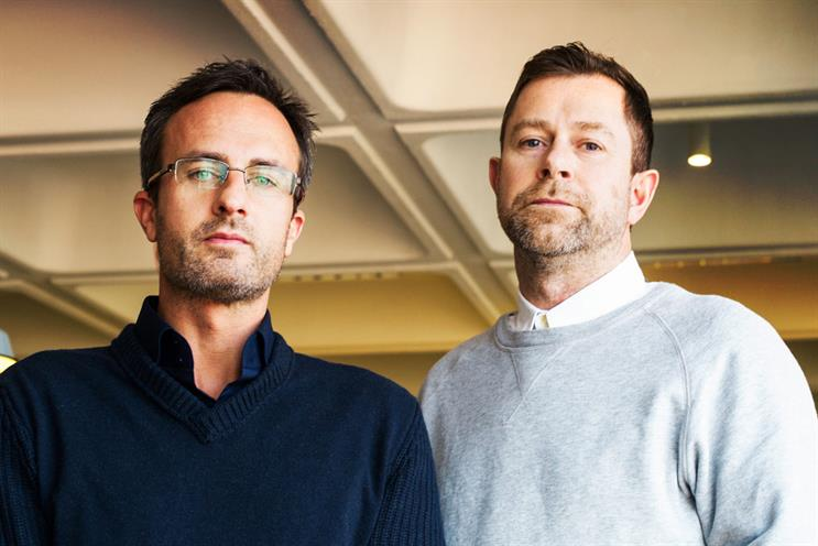 Eagle (l) and Todd: design head and creative partner respectively