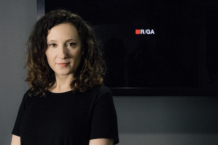 Kelly Wright: the new executive client services director at R/GA London