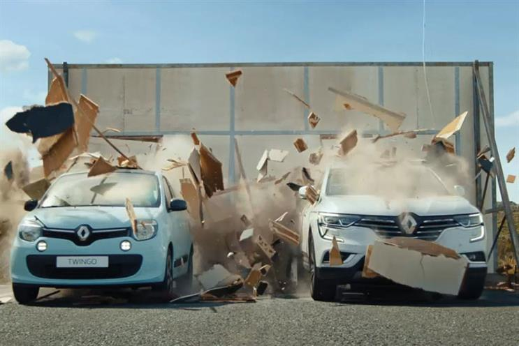 Renault: new campaign shows overhauled vehicle range and new brand identity