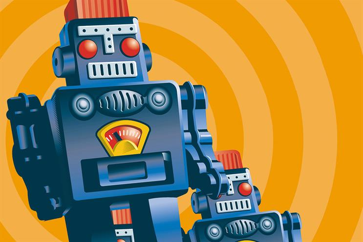 Robot stalkers: don't forget the humans in advertising