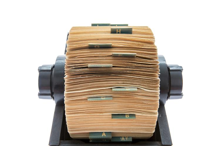 History of advertising: No 104: Maurice Saatchi's Rolodex