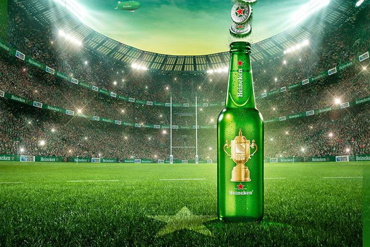 Rugby World Cup sponsors such as Heineken 'will be looking to sidestep some pulverising challenges'