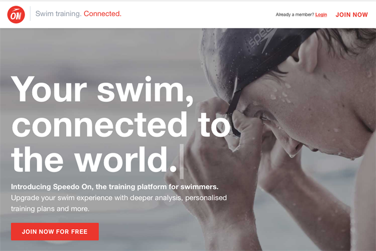 Why Speedo has turned to tech to help swimmers perform better
