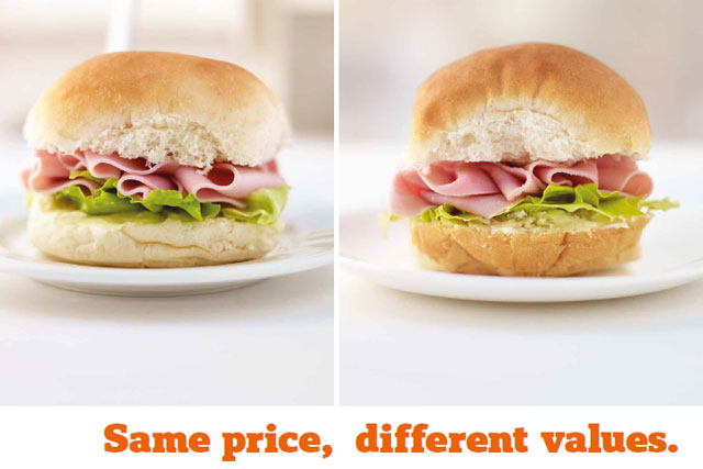 Sainsbury's: launched this press campaign in response to ASA ruling in Tesco's favour