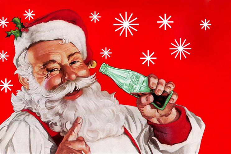 Santa has been featured in Coke ads since the 1920s