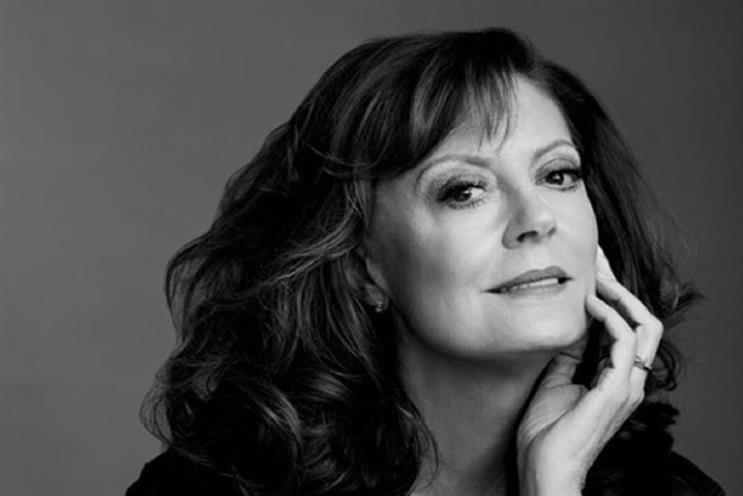 Susan Sarandon: joins L'Oreal's growing cast of 'older' celeb ambassadors